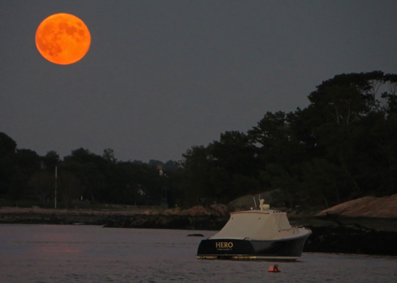 Strebeigh, Moonrise, Stony Creek, CT