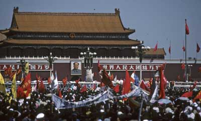 Fred Strebeigh, Tiananmen, May 1989