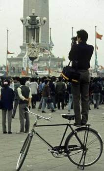 Fred Strebeigh Tiananmen May 1989